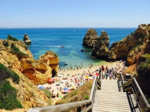 Praia do Camilo in Lagos, Algarve